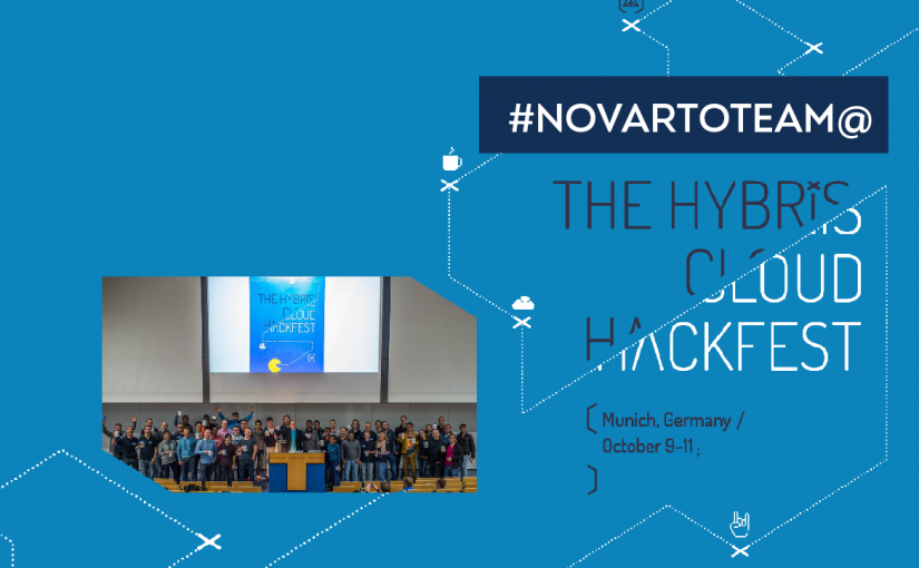 Novarto team at the hybris cloud hackfest