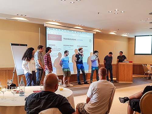 Novarto Teambuilding Thasos Spring 2016