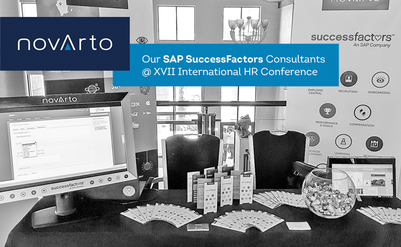 Novarto SAP SuccessFactors Consultants @ XVII International HR Conference