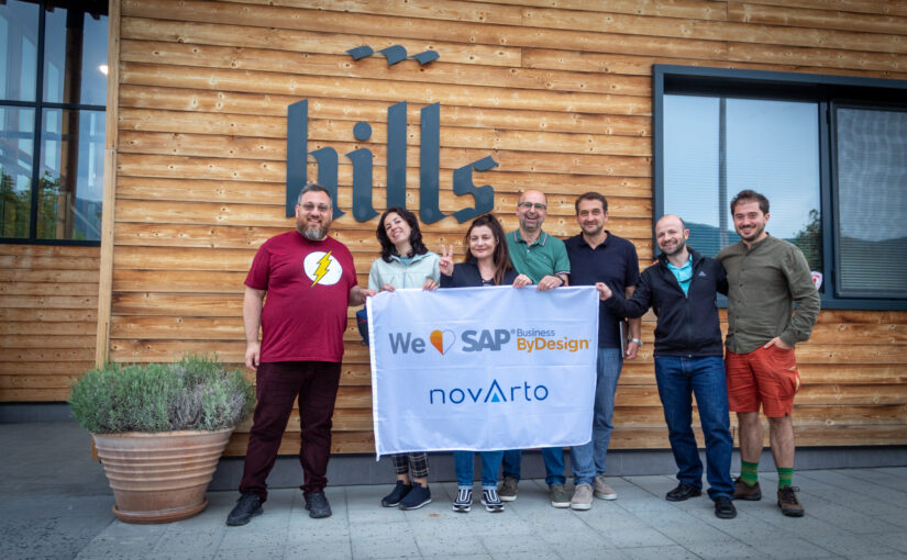 Novarto team implementing SAP ERP to Hills Brewery
